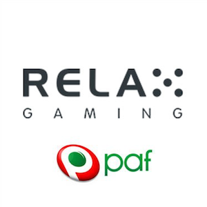 Paf ja Relax Gaming aloittavat yhteistyön